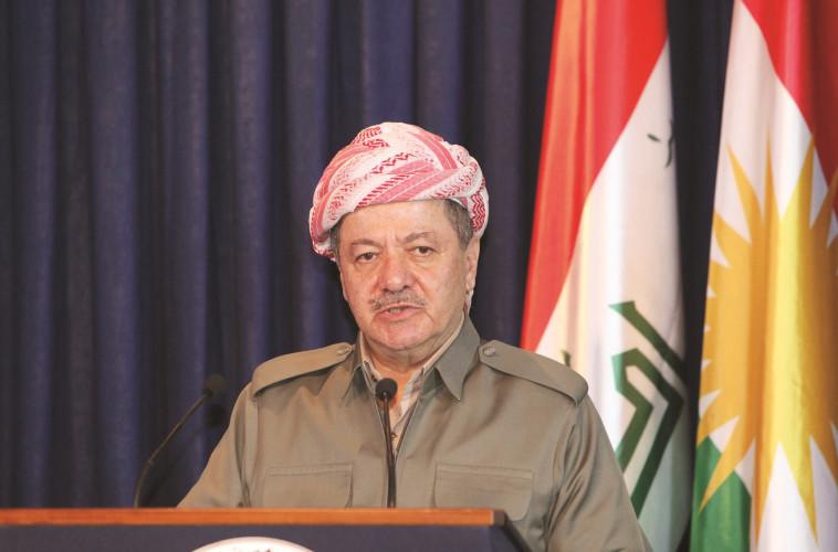 הנהג הפך למנהיג הכורדים. מסעוד ברזאני. צילום: רויטרס