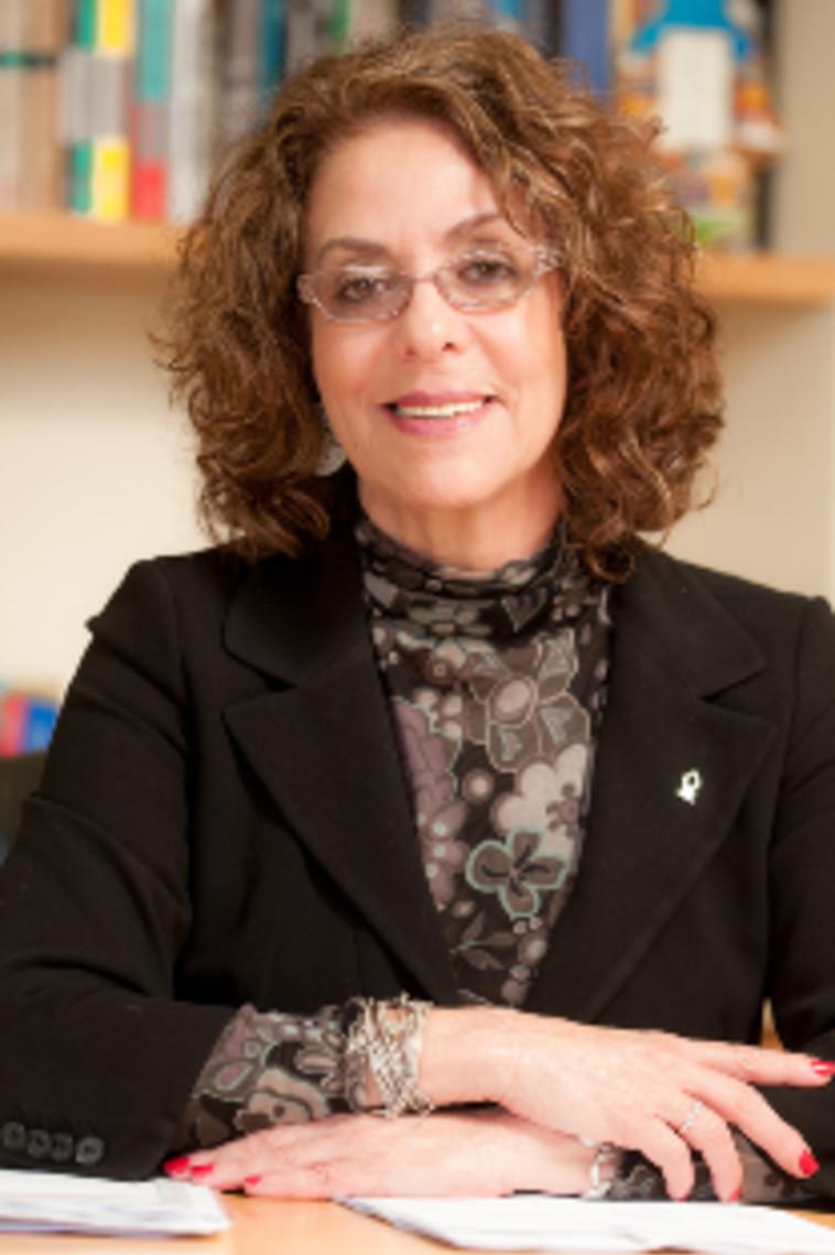 שר החינוך פרץ פסל את מועמדותה. פרופ' כרמי. צילום: דני מכליס. אוני' בן גוריון