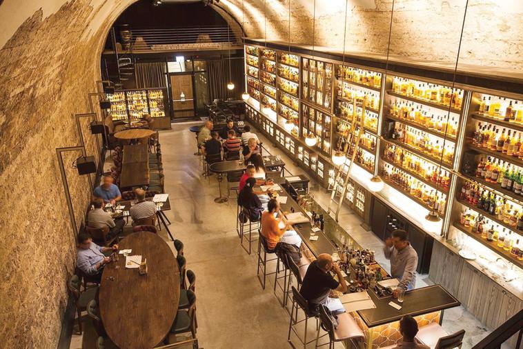מוזיאון הוויסקי בשרונה, אלכוהול (צילום: אפיק גבאי)