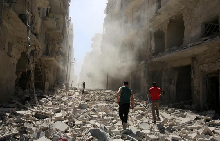 """""""איזה ניצחון זה שבא לאחר מצור, הרעבה והגליה של אזרחים?"""" המלחמה בחלב. צילום: רויטרס"""