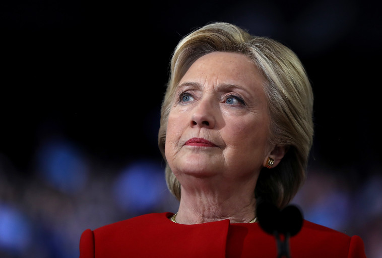"""""""ניצחה בספירת הקולות בזכות זיופים"""", גרסת טראמפ. צילום: גטי אימג'ס"""