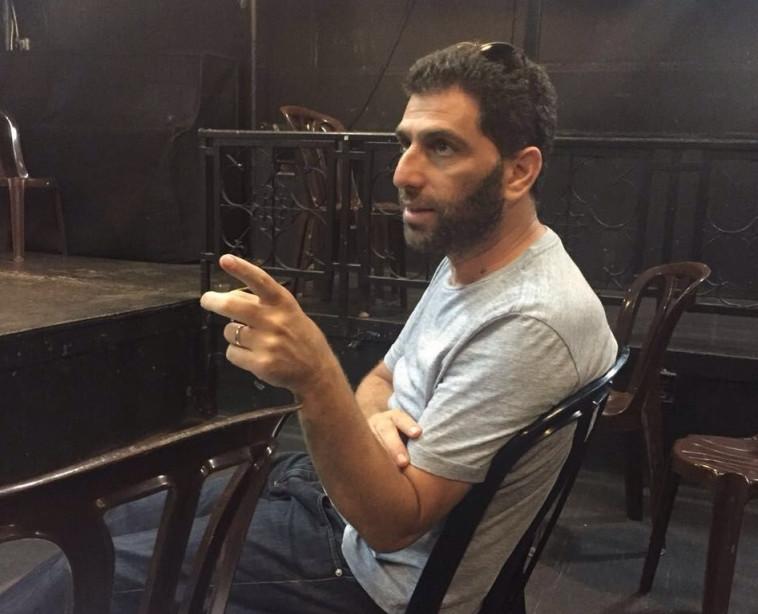 יוסי מרשק , מאחורי הקלעים (צילום: כינר, יח''צ)