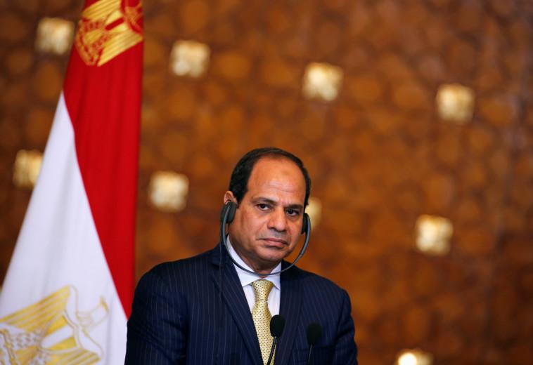 """עדיין מכונה """"מנהיג ההפיכה הצבאית"""". ע""""א פתאח א-סיסי, צילום: רויטרס"""