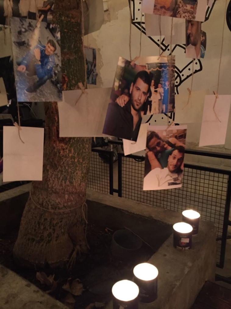 """""""העץ הוא סמל החיים"""", תמונותיהם של אלון בקל ושימי רואימי ז""""ל"""