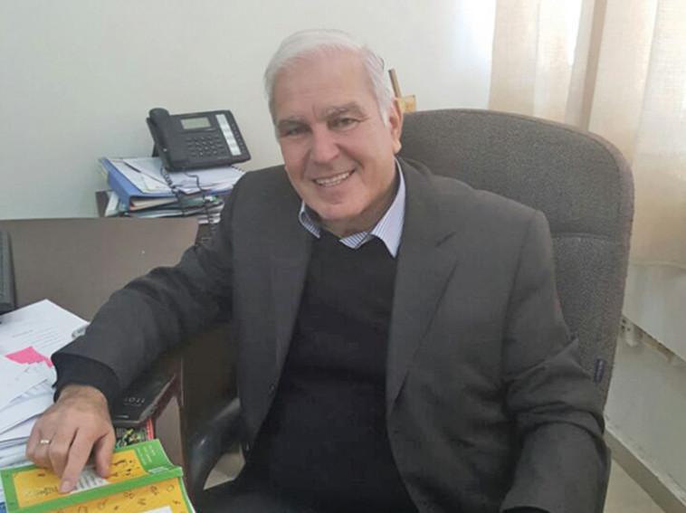 משה נחום, ראש אגף החינוך בעיריית דימונה. צילום: דוברות עיריית דימונה
