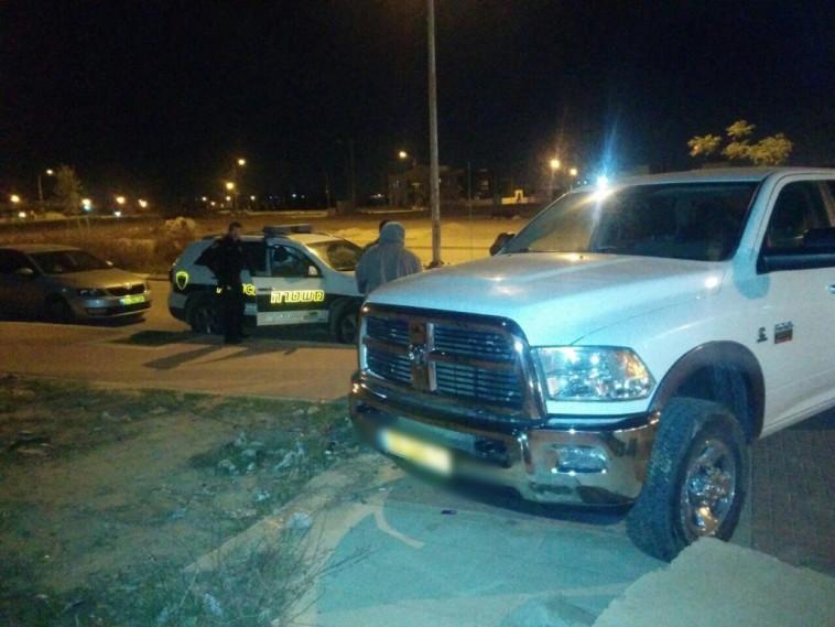 תאונת הדרכים בחורה, צילום: משטרת ישראל