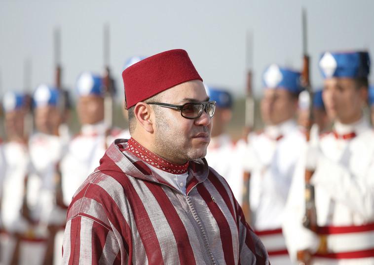 מלך מרוקו מוחמד השישי (צילום: Getty images)