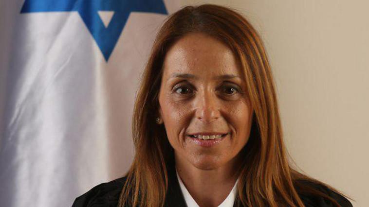 הוציאה את הנוכחים מהאולם. השופטת דנה אמיר. צילום: באדיבות הנהלת בתי המשפט