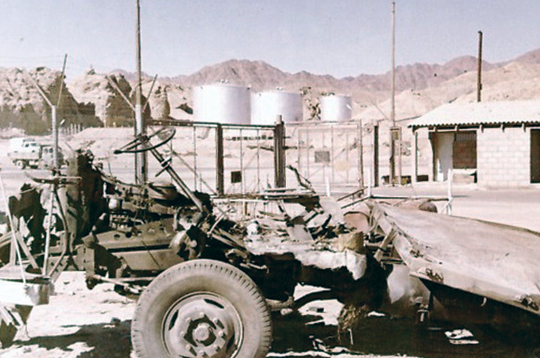 אסון משאית התחמושת. צילום: ניר מאור, מוזיאון ההעפלה וחיל הים
