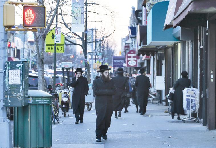 יהודים בברוקלין (צילום: נתי שוחט, פלאש 90)