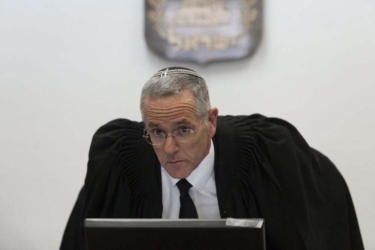 השופט דוד מינץ (צילום: פלאש 90)