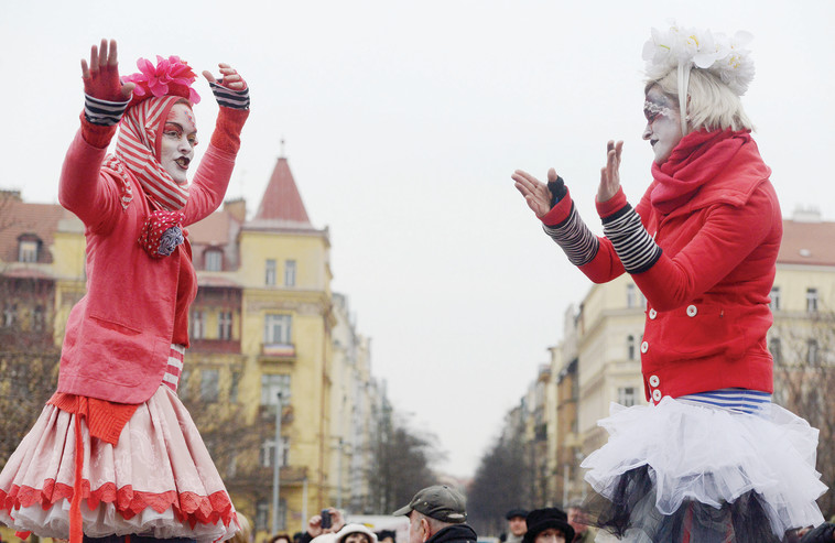 רובע זיזקוב בפראג. צילום: Michal Cizek/AFP