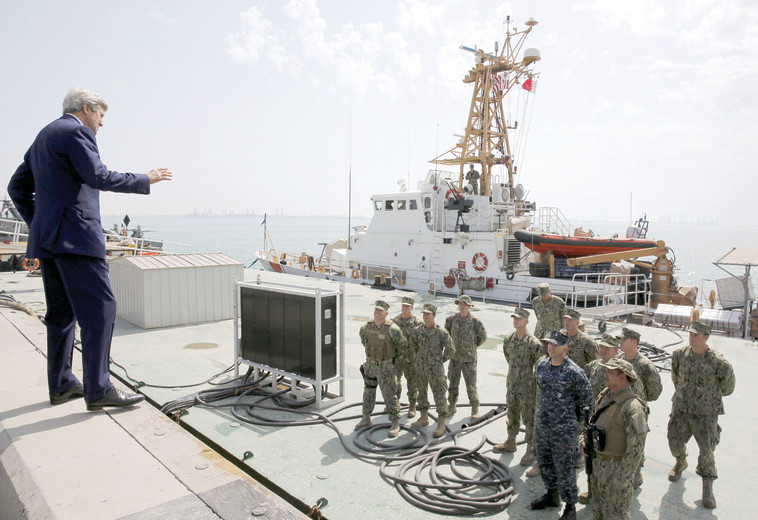בסיס צבאי אמריקאי על אדמת בחריין. צילום: רויטרס
