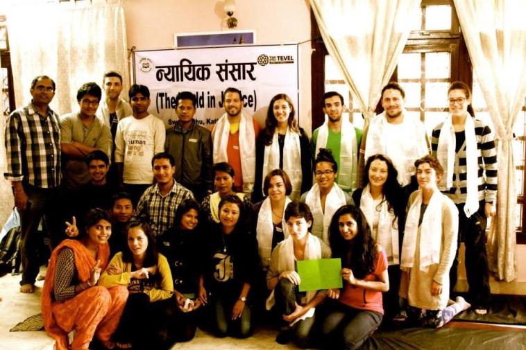 המתנדבים הישראלים בנפאל. צילום: ארגון תבל בצדק