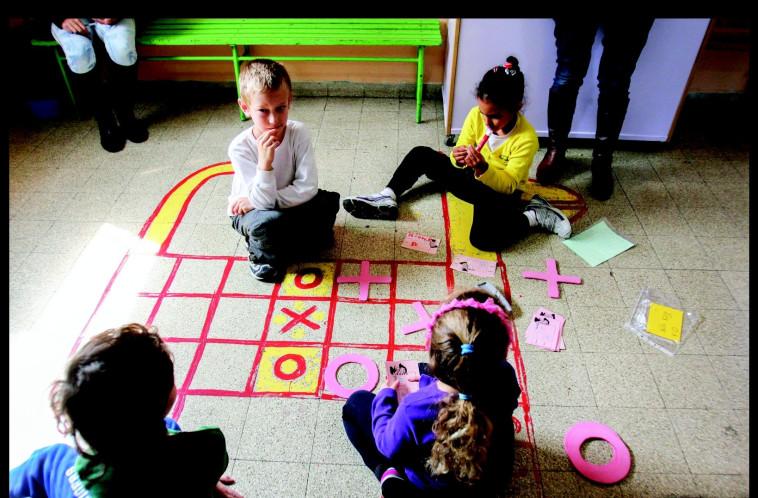ילדים משחקים. צילום: ברוך יעקובי