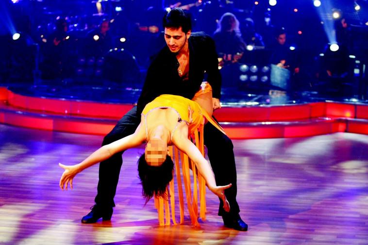 """יניב קקון בתוכנית """"רוקדים עם כוכבים"""". פלאש 90"""