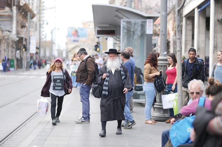 """""""קודם כל עיר שלא אוחדה לה יחדיו"""", ירושלים. צילום: מנדי הכטמן, פלאש 90"""