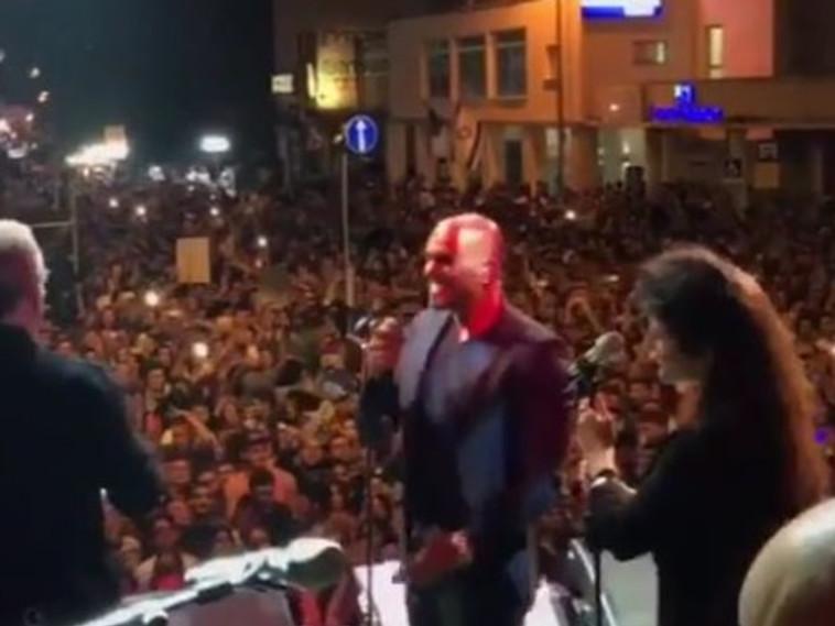אייל גולן מופיע בחיפה בערב יום העצמאות. אינסטגרם