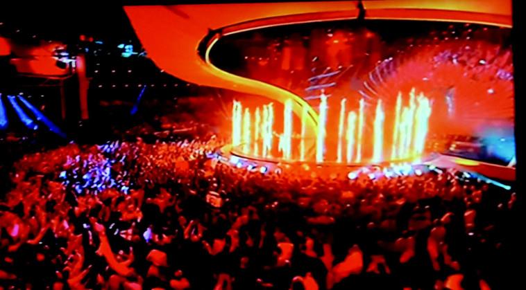אירוויזיון 2017. צילום מסך