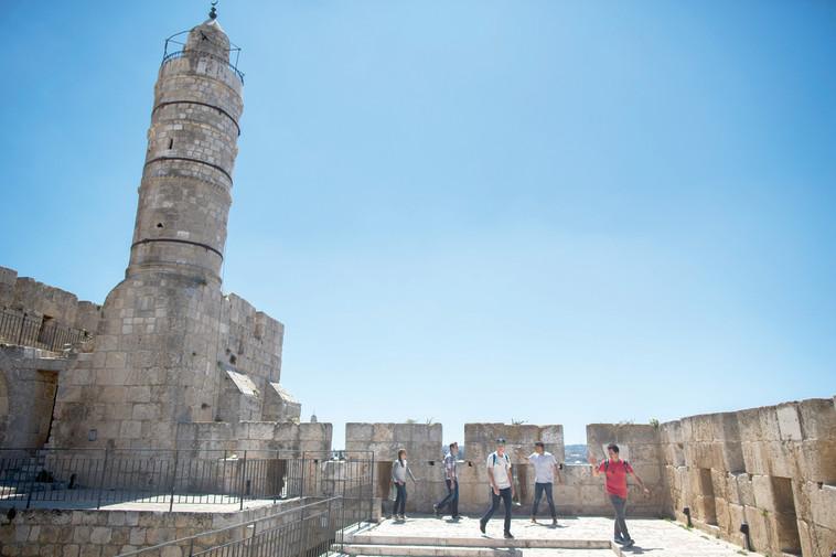עיר דוד. ללמוד על ירושלים הקדומה. צילום: יונתן זינדל, פלאש 90
