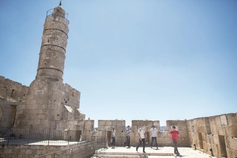 מגדל דוד. צלם : יונתן זינדל, פלאש 90