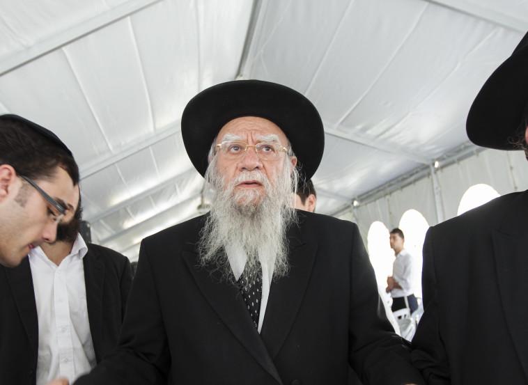הרב אליהו בקשי דורון. האם יצטרף לרב הראשי האשכנזי לשעבר? צילום: פלאש 90