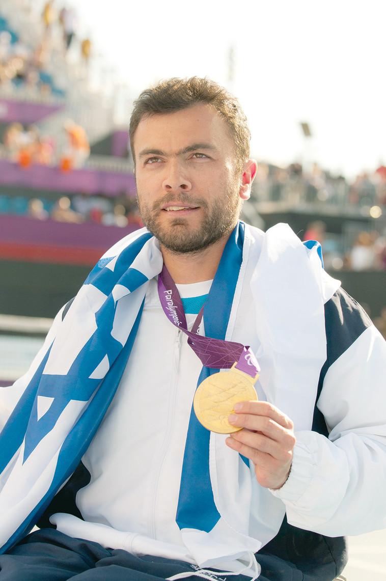 נועם גרשוני באולימפיאדת לונדון 2012. צלם : רזי לבנת