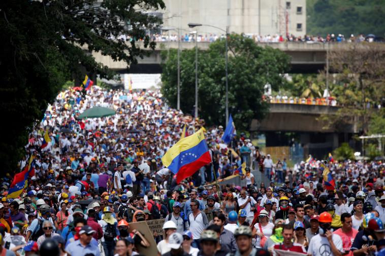 המשבר בוונצואלה. טראמפ לא מרוצה מהאופן שבו בולטון טיפל בנושא. צילום: רויטרס