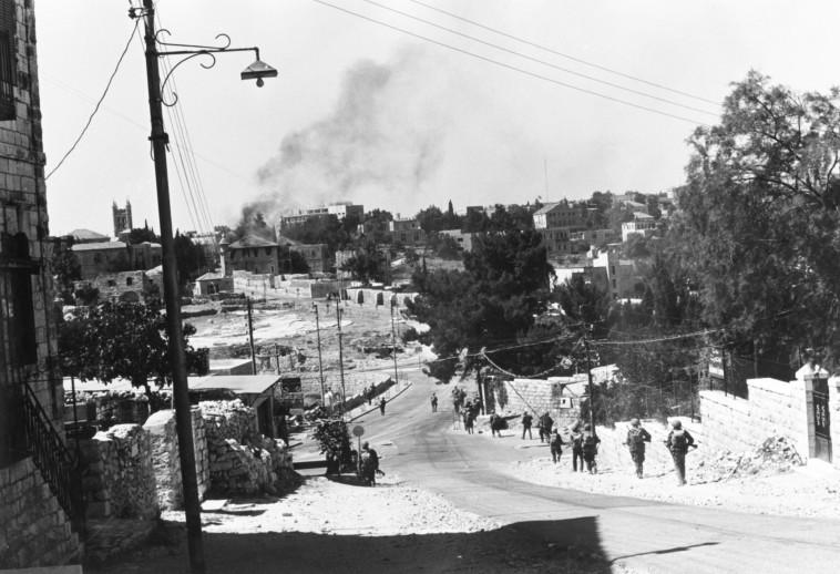 הקרב על גבעת התחמושת. צילום: עיתון במחנה