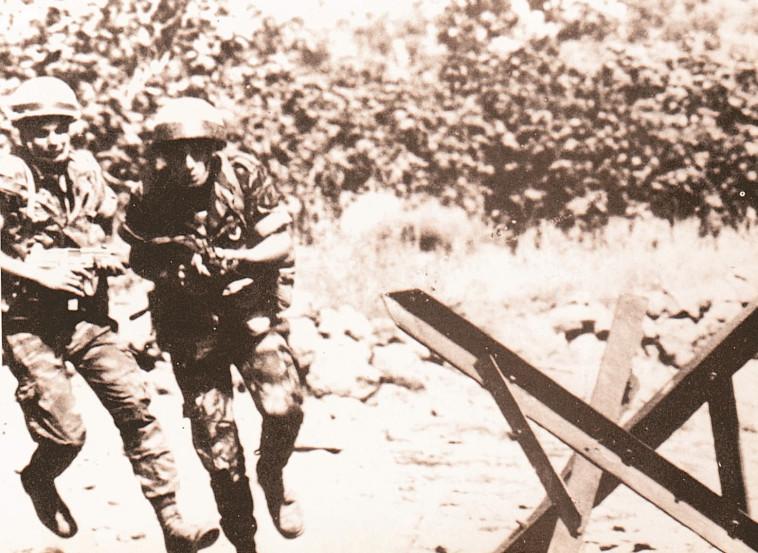 קרב תל פאחר, צילום באדיבות: אתר ההנצחה לקרב תל פאחר