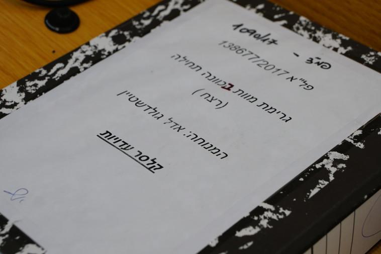 העדויות במשפט של מאיר גולדשטיין. צילום: ערן גיליווארד