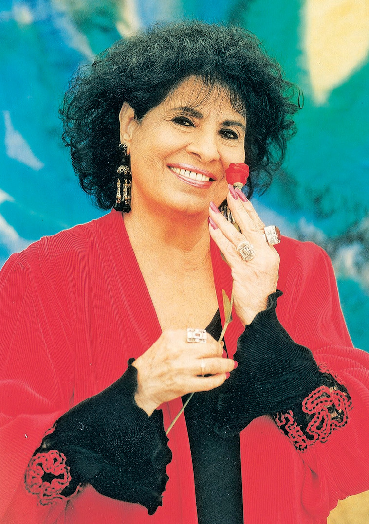 """שושנה דמארי. """"כישפה אותי בשירתה"""". צילום: ראובן קסטרו"""