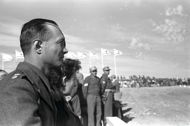 """דיין. הפך ל""""צבר"""" הישראלי הראשון. צילום: לע""""מ"""