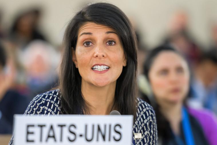 ניקי היילי. צילום: AFP