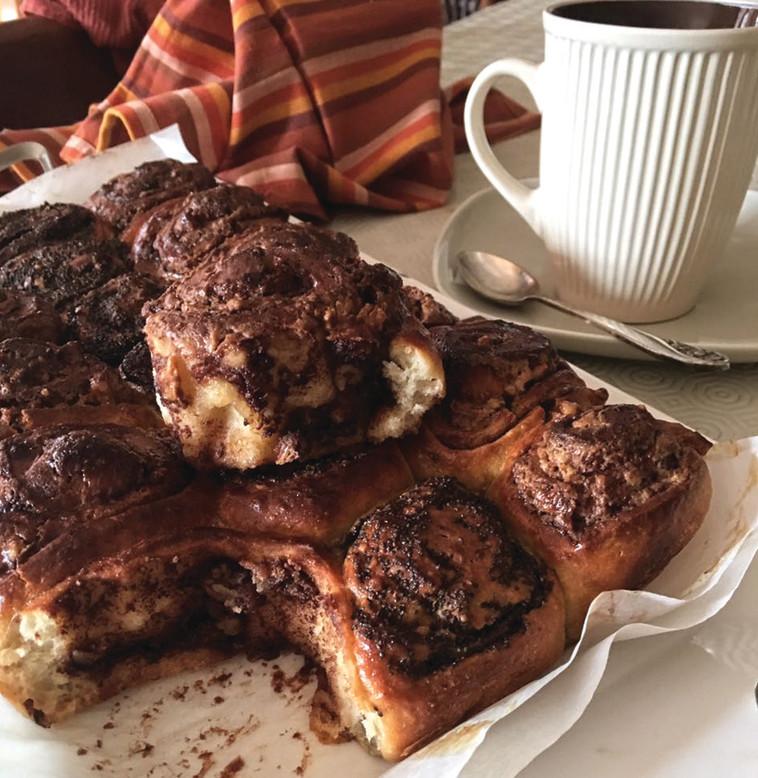 לפתוח את הבוקר עם שושנים מתוקים. צילום: פסקל פרץ רובין