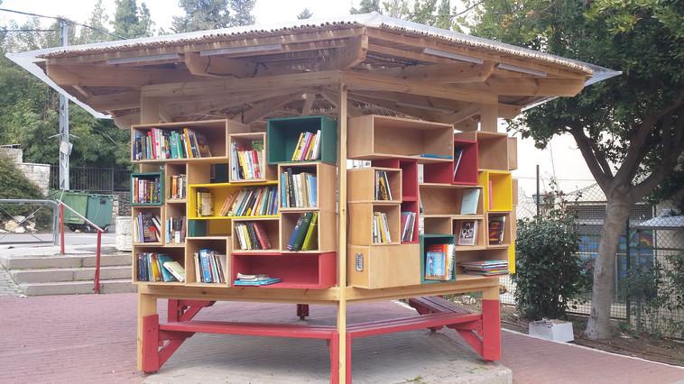 ספריית הרחוב בשכונת בית הכרם בירושלים. צילום: דלית יששכר