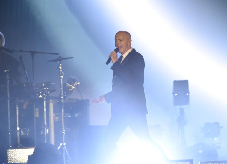 על הבמה בפארק הירקון, אמש. צילום: ליאור כתר