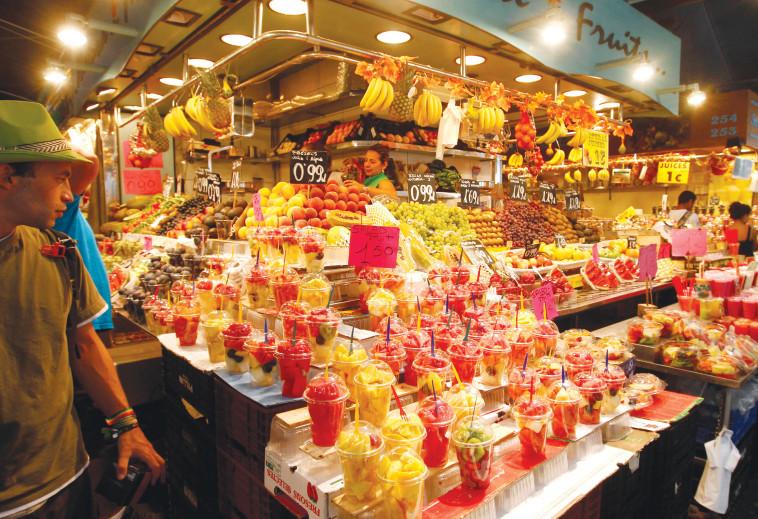 שוק לה בוקריה, ברצלונה (צילום: מיטל שרעבי)