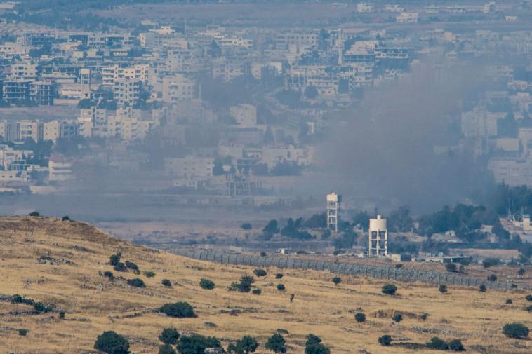 גבול סוריה באזור קונטרה. צילום: באסל עווידאת, פלאש 90