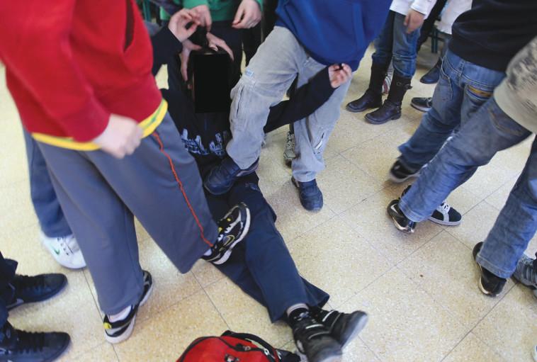 אלימות בבית הספר. הנתונים מדאיגים. צילום: נתי שוחט, פלאש 90