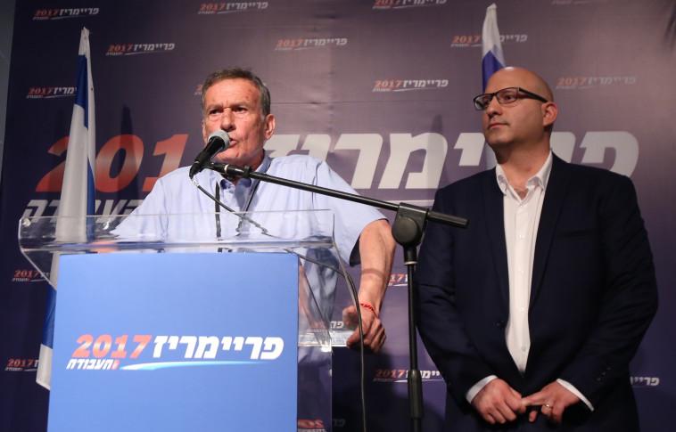 ההכרזה על תוצאות הבחירות. צילום: מרק ישראל סלם