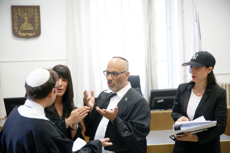 לייפר בבית המשפט המחוזי בירושלים, יוני 2016. צילום: רויטרס