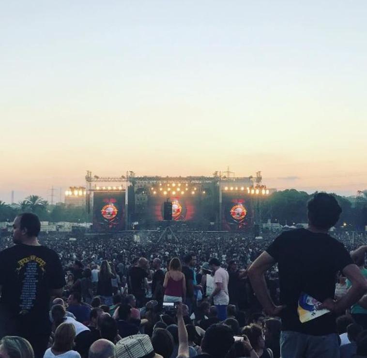 הופעת מוזיקה בפארק הירקון (צילום: אינסטגרם)