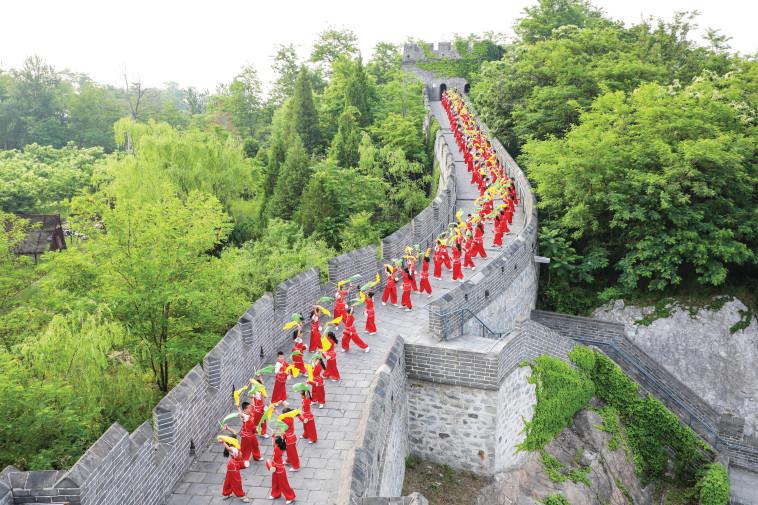 חומת סין. צילום: רויטרס