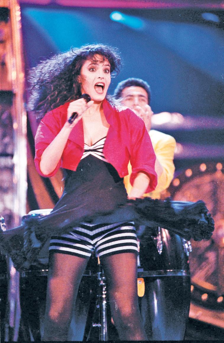 דפנה דקל באירוויזיון 1992. צילום: קוקו