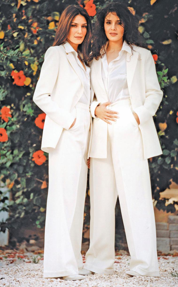דפנה דקל עם סיגל שחמון, 1999. צילום: ראובן קסטרו