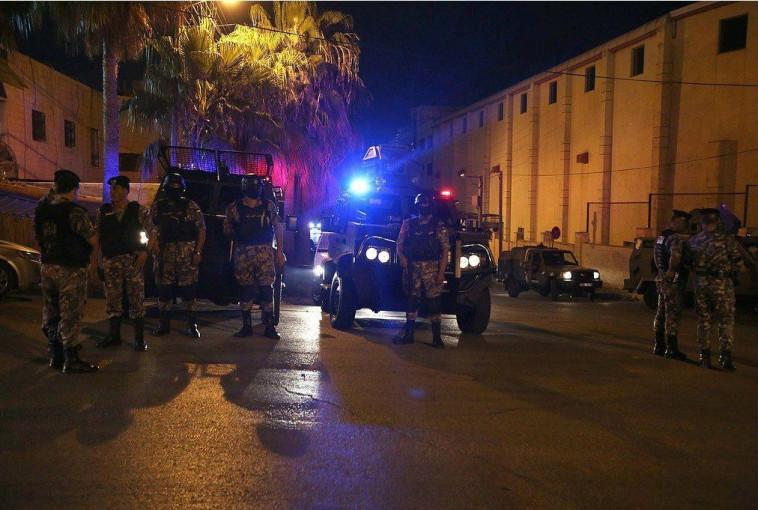 זירת האירוע בירדן. צילום: רשתות חברתיות