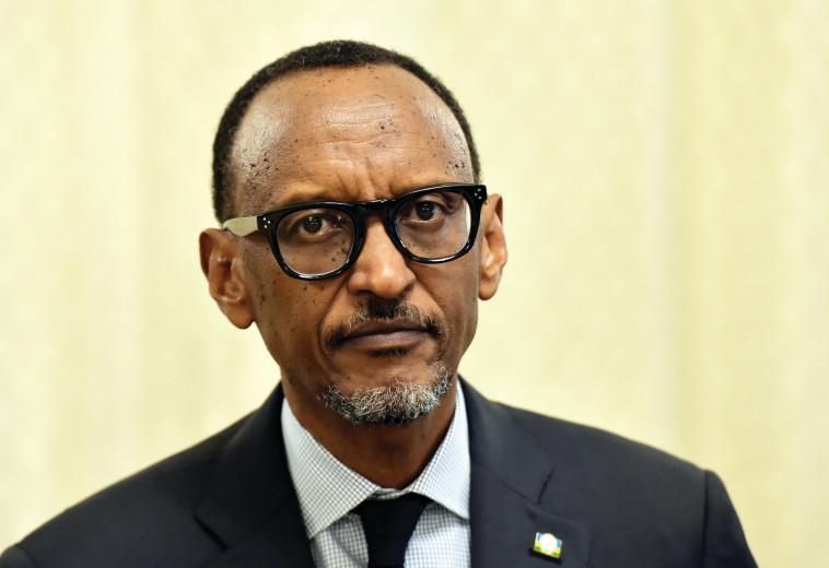 נשיא רואנדה, פול קאגמה. צילום: רויטרס