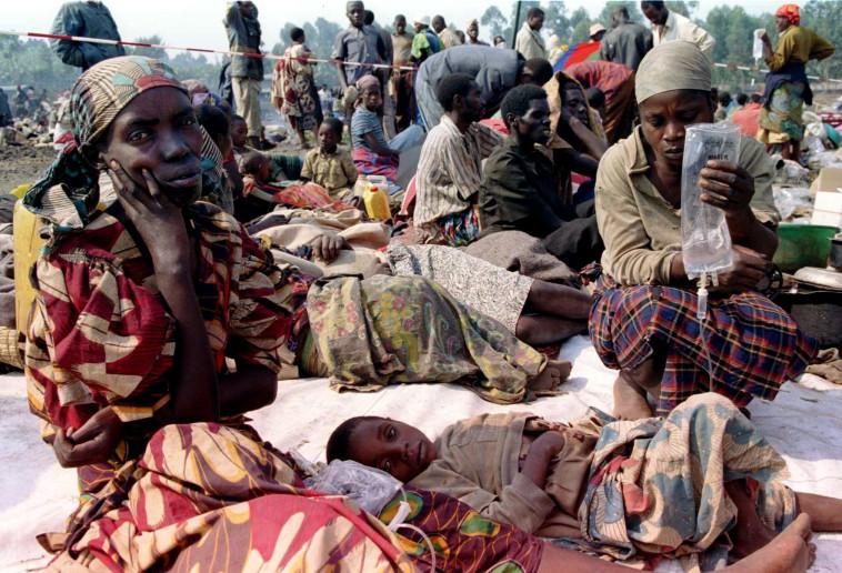נרדפים ברואנדה. צילום: רויטרס