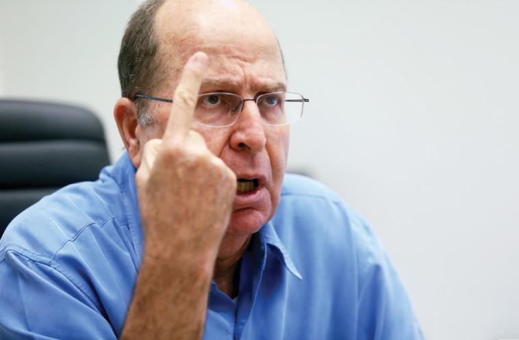 משה בוגי יעלון (צילום: אריאל בשור)
